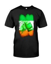 St Patrick Flag - Beer Splash IE Classic T-Shirt front