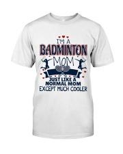 I Am A Badminton Mom Premium Fit Mens Tee thumbnail