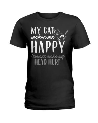 My Cat Makes Me Happy Humans Make My Head Hurt