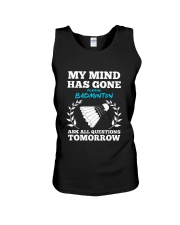 My Mind Has Gone Playing Badminton Unisex Tank thumbnail