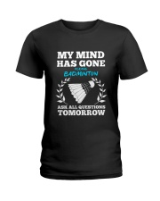 My Mind Has Gone Playing Badminton Ladies T-Shirt thumbnail