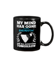 My Mind Has Gone Playing Badminton Mug thumbnail