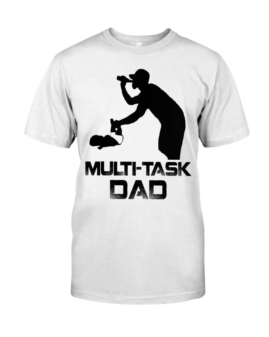 Multi-Task Dad Classic T-Shirt