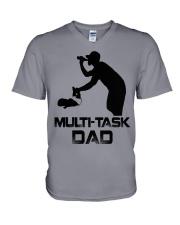 Multi-Task Dad V-Neck T-Shirt thumbnail
