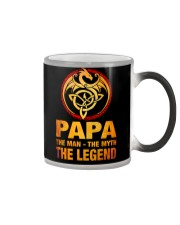 Papa The Man The Myth The Legend Color Changing Mug thumbnail