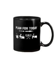Plan For Today - Badminton V2 Mug thumbnail
