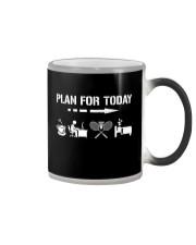 Plan For Today - Badminton V2 Color Changing Mug thumbnail