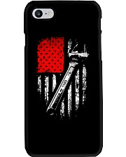 Mechanic American Flag Phone Case thumbnail