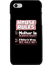 House Rules Mother Phone Case thumbnail
