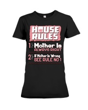 House Rules Mother Premium Fit Ladies Tee thumbnail