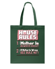 House Rules Mother Tote Bag thumbnail
