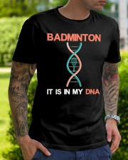 Badminton - It Is In My DNA Classic T-Shirt lifestyle-mens-crewneck-front-7