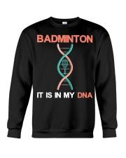 Badminton - It Is In My DNA Crewneck Sweatshirt thumbnail
