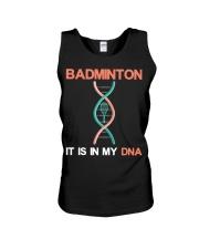 Badminton - It Is In My DNA Unisex Tank thumbnail