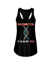 Badminton - It Is In My DNA Ladies Flowy Tank thumbnail