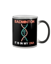 Badminton - It Is In My DNA Color Changing Mug thumbnail