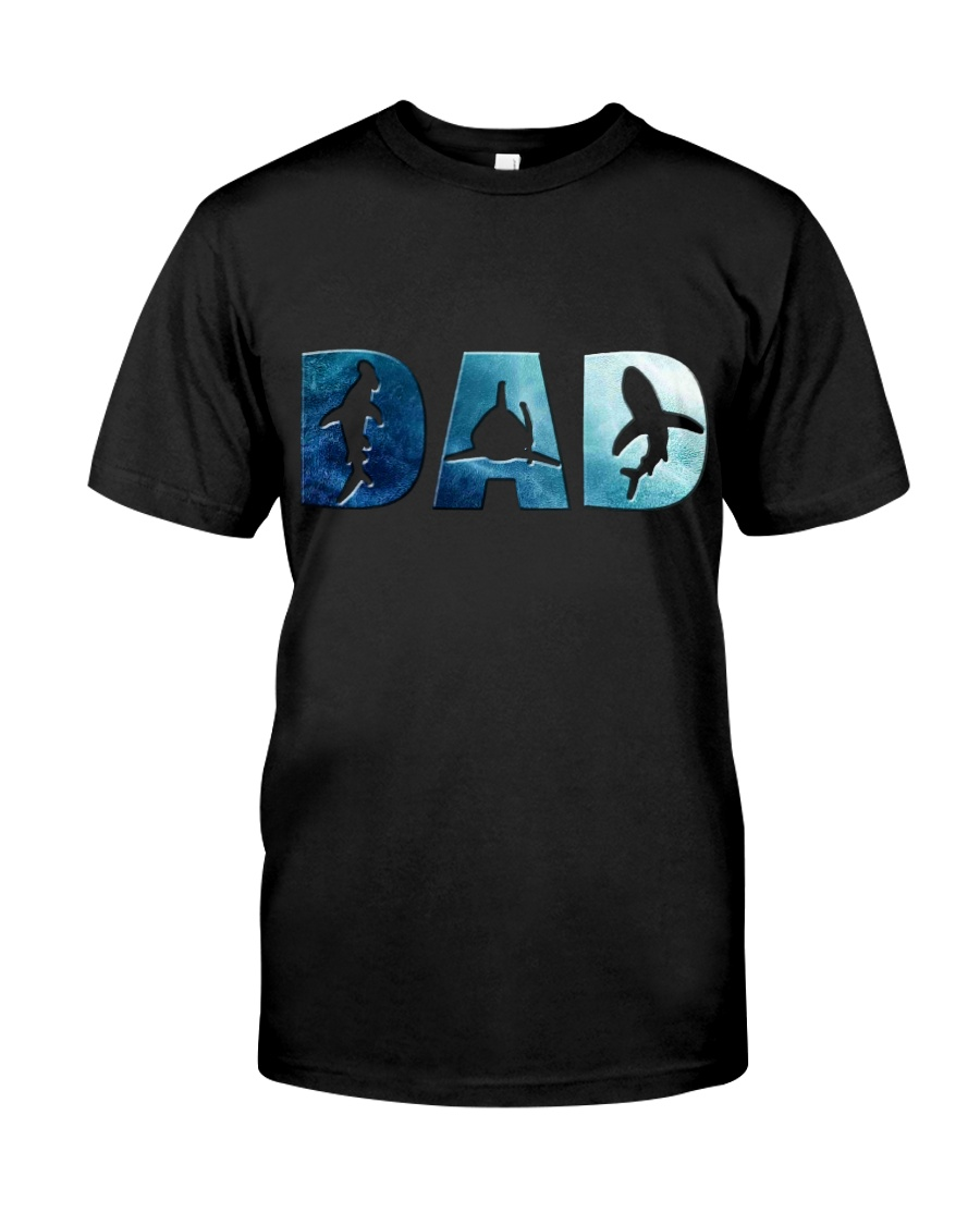 Shark Dad Classic T-Shirt