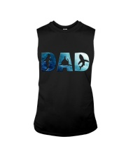 Shark Dad Sleeveless Tee thumbnail