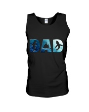 Shark Dad Unisex Tank thumbnail