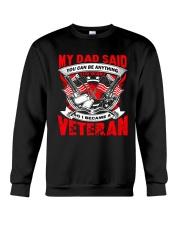 So I Became A Veteran Crewneck Sweatshirt thumbnail
