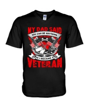 So I Became A Veteran V-Neck T-Shirt thumbnail