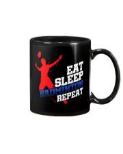 Eat Sleep Badminton Repeat Mug thumbnail