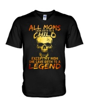 All Moms Gave Birth To A Child Ver 2 V-Neck T-Shirt thumbnail