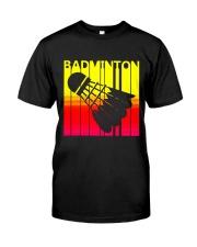 Badminton Unlimited Classic T-Shirt front