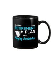 I Will Be Playing Badminton Mug thumbnail