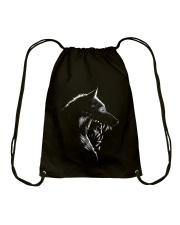 Wolf Art Ver 2 Drawstring Bag thumbnail