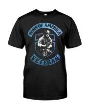 Sons Of America-Veteran Classic T-Shirt front