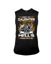 HURT MY DAUGHTERS - I'M COMING FOR YOU AND HELL'S  Sleeveless Tee thumbnail