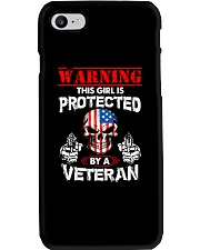 This Girl Is Protected By A Veteran Phone Case thumbnail