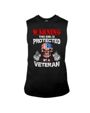 This Girl Is Protected By A Veteran Sleeveless Tee thumbnail
