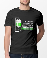 My Blood Type Is Green Beer Classic T-Shirt lifestyle-mens-crewneck-front-13