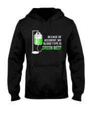 My Blood Type Is Green Beer Hooded Sweatshirt thumbnail