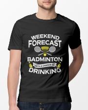 Weekend Forecast Badminton Classic T-Shirt lifestyle-mens-crewneck-front-13