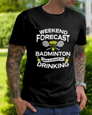 Weekend Forecast Badminton Classic T-Shirt lifestyle-mens-crewneck-front-7
