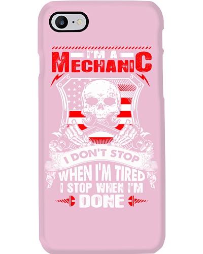 I am a mechanic I Stop When I Am Done