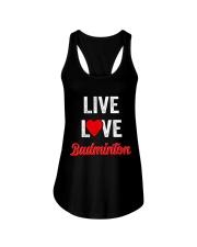 Live Love Badminton Ladies Flowy Tank thumbnail