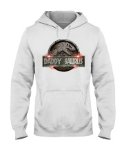 Daddy Saurus Hooded Sweatshirt thumbnail