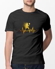 Badminton Heartbeat Classic T-Shirt lifestyle-mens-crewneck-front-13