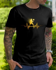 Badminton Heartbeat Classic T-Shirt lifestyle-mens-crewneck-front-7