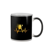 Badminton Heartbeat Color Changing Mug thumbnail