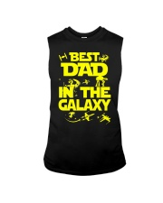 Best Dad In The Galaxy Sleeveless Tee thumbnail