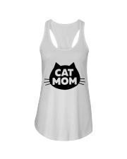 Cat Mom Ladies Flowy Tank thumbnail