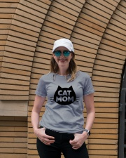 Cat Mom Ladies T-Shirt lifestyle-women-crewneck-front-4