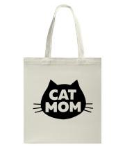 Cat Mom Tote Bag thumbnail