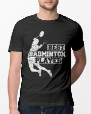 Best Badminton Player Classic T-Shirt lifestyle-mens-crewneck-front-13
