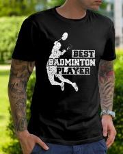 Best Badminton Player Classic T-Shirt lifestyle-mens-crewneck-front-7